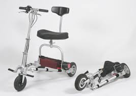 Image of folding scooter.